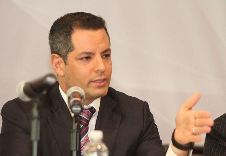 El CEN del PRI dijo que eligió a Alejandro Murat Hinojosa (foto) para asegurar el triunfo en Oaxaca el próximo 5 de junio. (Archivo/Notimex)