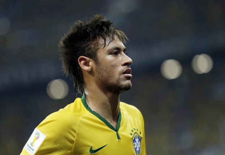 El atacante brasileño Neymar da Silva lidera la tabla de goleadores de la Copa del Mundo Brasil 2014. (AP)