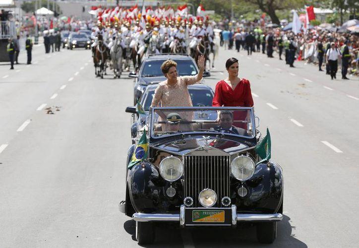 Con la segunda asunción de Dilma Rousseff, el Partido de los Trabajadores acumula 16 años en el poder. (EFE)