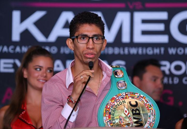 Rey Vargas se encuentra desde principios de semana en Nueva York, listo para la ceremonia de pesaje. (Foto: BoxingScene).