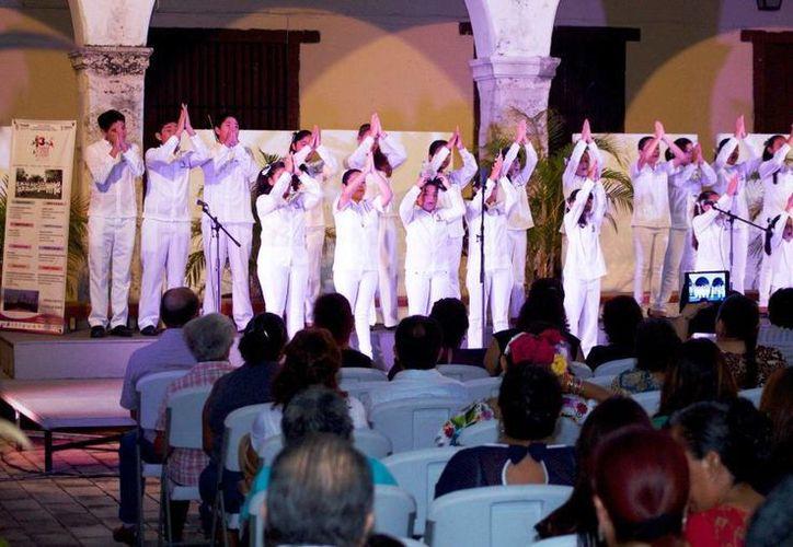 La Red Coral y el Conjunto Vocal Yucatán estarán en varios recitales en el interior del Estado. (Milenio Novedades)
