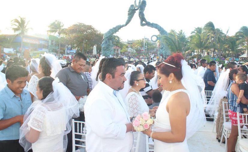 Las bodas colectivas se realizarán este 14 de febrero en el Parque Fundadores. (Adrián Barreto/SIPSE)