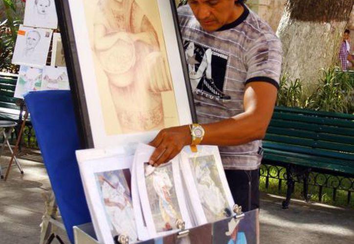 """Trabajadores del arte"""", de los más estudiados. (SIPSE)"""