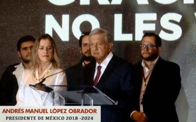 Obrador explicó que no actuará de manera arbitraria y dejará a los empresarios ejercer libremente. (Captura de pantalla)