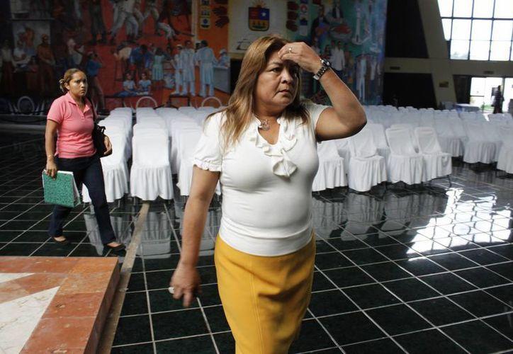 Aún cuando enfrenta un proceso penal, Edith Mendoza Pino, debe afrontar el juicio político. (Ernesto Neveu/SIPSE)
