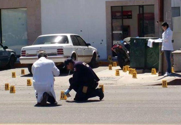 La balacera se registró en un centro comercial de Guaymas, Sonora. Hay unas cinco personas lesionadas. (Excélsior)