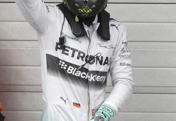 Nico Rosberg mantiene el liderato de Mundial de Fórmula 1(Foto:The Associated Press)
