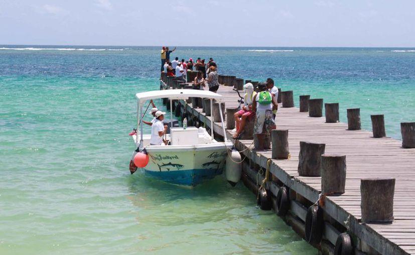 Puerto Morelos se promocionó como marca propia en el pasado Tianguis Turístico de Acapulco. (Israel Leal/SIPSE)