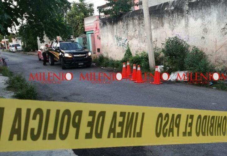 Los hechos se registraron esta tarde en calles aledañas a la 92, 59 y 59-J de la colonia Bojórquez. (SIPSE)
