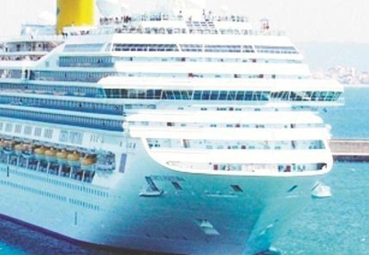 Los puertos que recibieron más cruceros son La Paz y Santa Rosalía, ambos en BCS, con aumentos de 42.9 y 66.7%. (Notimex/Foto de archivo)