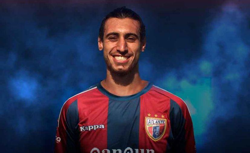 El goleador charrúa llega con grandes expectativas para la próxima temporada. (Atlante FC)