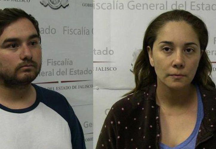 Miguel Armando Bañuelos Villa y Virginia Guadalupe Anaya Guzmán deberán responder por la muerte del médico Fidel Francisco Sáenz Laviada. (Milenio Novedades)