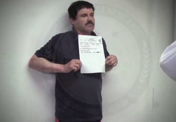 Por fin la DEA tiene pruebas para armar un caso contra Joaquín 'El Chapo' Guzmán. (PGR)