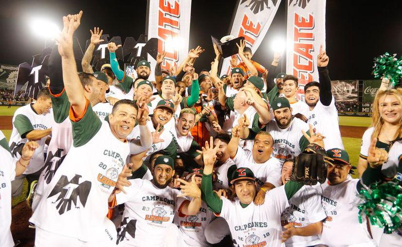 Los melenudos lograron el título del Sur en siete partidos contra Tigres. (Foto: Cortesía)