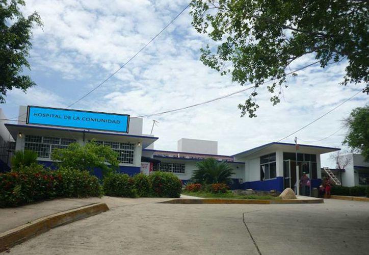 Hospital Básico Comunitario de Copala, Guerrero, donde presuntamente negaron atención a la joven. (Foto: hospital-copala.blogspot.com)