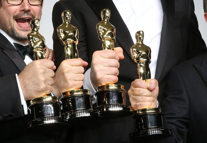 Los grandes premios Oscars 2018 se entregarán este domingo.  (shutterstock)