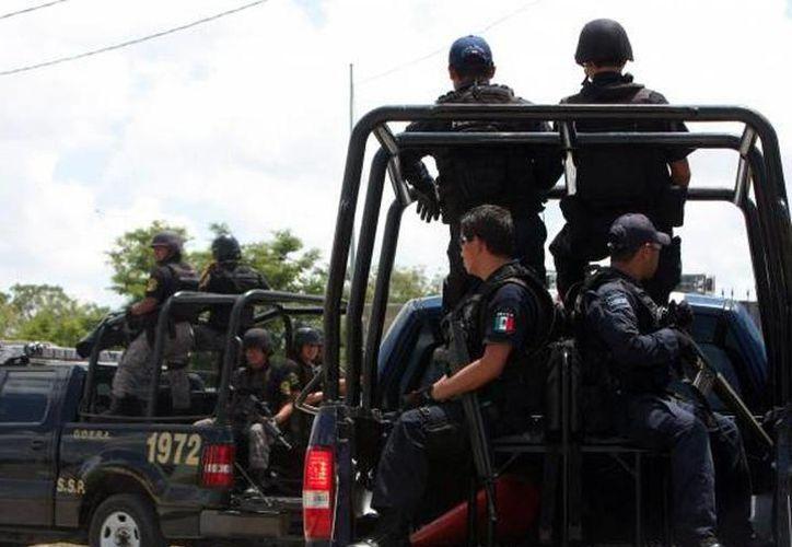 Agentes de la Secretaría de Seguridad Pública de Yucatán lograron ubicar un autobús proveniente del estado de Quintana Roo y capturar a los sujetos. (SIPSE)