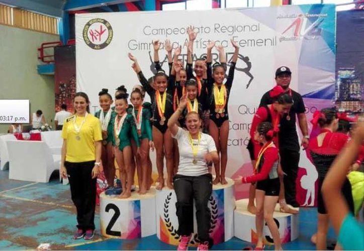 El equipo nivel 5 del Club Alianz fue el que logró quedarse con la medalla de oro. (Redacción/SIPSE)
