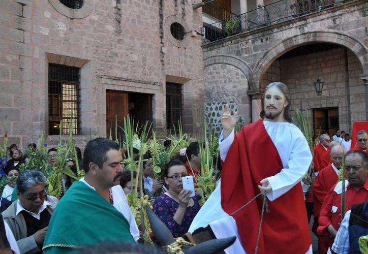 En México hay varios recintos religiosos importantes y de valor histórico que son visitado por miles de católicos. (Archivo/Notimex)