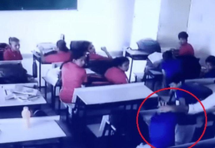 La agresión del maestro Jagmohan Meena indignó a toda la comunidad de redes sociales. (Foto: trome.pe)