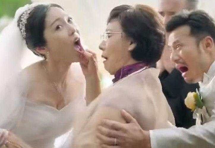 El promocional ha sido fuertemente criticado en el país asiático. (Foto: Contexto/Internet)