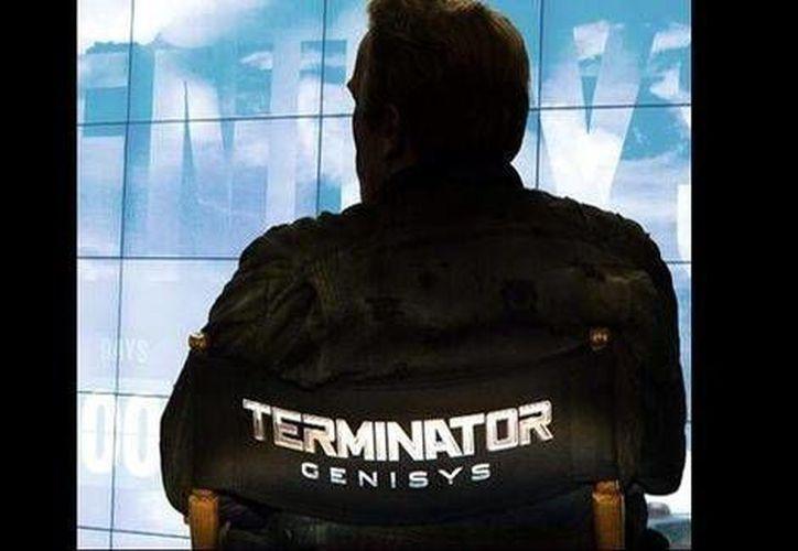 Schwarzenegger indicó que la película se estrenará el 1 de julio de 2015. (Facebook/Arnold Schwarzenegger)