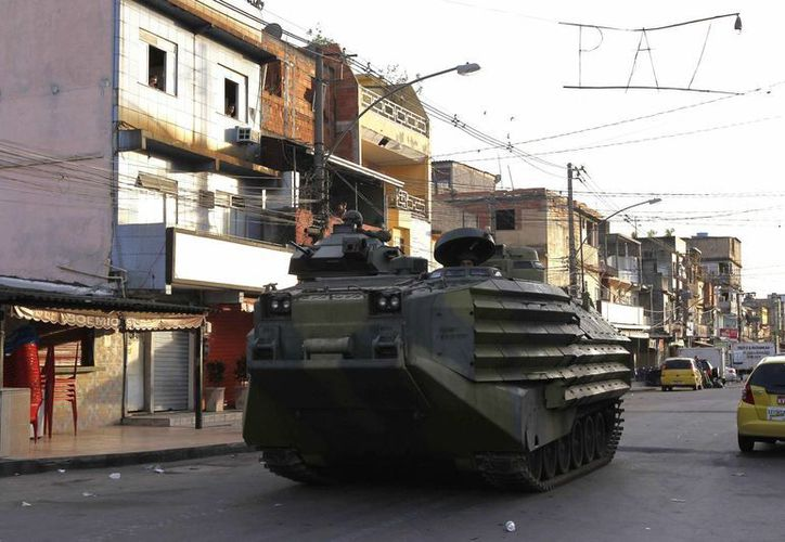 Los entrenamientos anti terroristas en Sao Paulo fueron obra de la compañía estadounidense Academi, antigua Blackwater. (EFE/Foto de archivo)