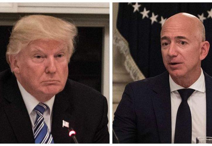 No es la primera vez que Donald Trump habla mal de Amazon. (Foto: Animal Político).