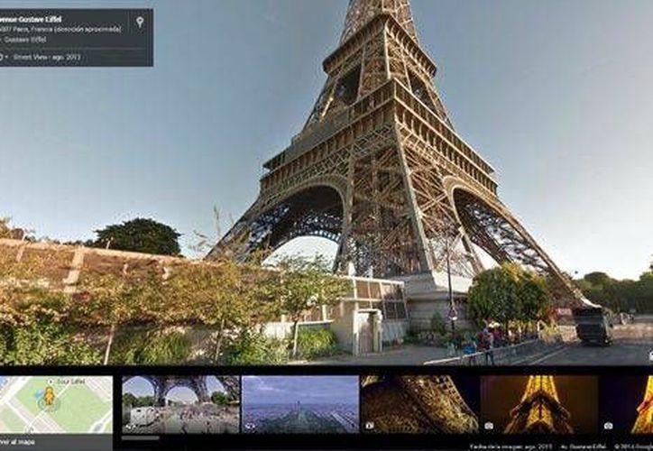Con la actualización de Google Maps, podrás visitar monumentos famosos en imágenes de 360 grados. (Milenio)