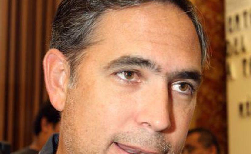 El presidente local de la Coparmex, Nicolás Madáhuar Boehm, evaluó de manera positiva la política económica del gobernador Rolando Zapata Bello. (Milenio Novedades)