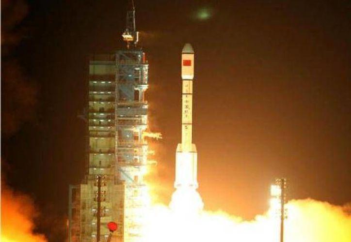Módulo Tiangong-1 de China, una de las tres naciones que han conquistado el espacio. (Agencias/Archivo)