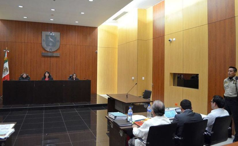 Tribunal 1º de juicio oral del Poder Judicial del Estado condenó a Rafael de Marco Canul Pool, homicida del director de orquesta Luis Luna Guarneros, a pasar 35 años en la cárcel. (Cortesía)