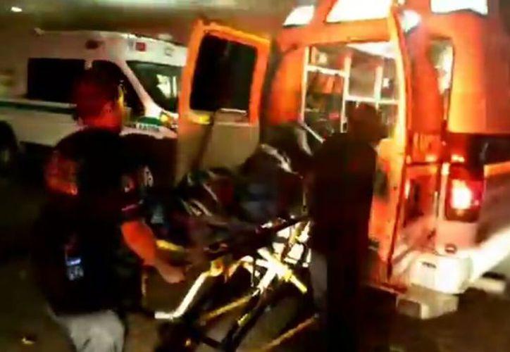 La persona lesionada fue trasladada al IMSS de la Cobá para su valoración inmediata. (Redacción/SIPSE)