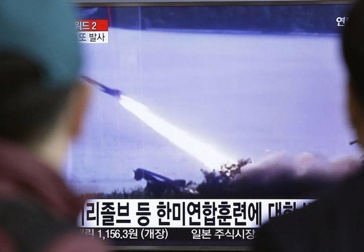 La tensión entre las Coreas comenzó a escalar desde el mes de febrero, cuando Pyongyang lanzó un satélite en un cohete. (Archivo/AP)