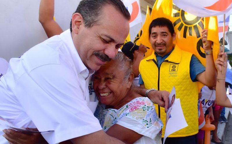 Para el candidato Julián Ricalde e impostergable recuperar la seguridad a fin de que los quintanarroenses vivan sin temor. (Foto: Redacción/SIPSE)