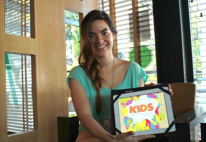 Gabriela Ponce Perdomo, creadora y directora del Kids Sunset Festival. (Jorge Acosta/Milenio Novedades)