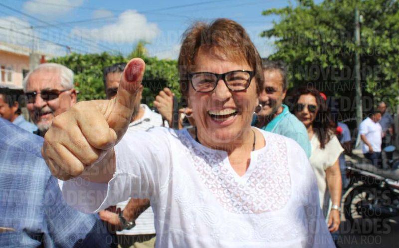Laura Beristain pertenece a la coalición 'Juntos haremos historia'. (Octavio Martínez/ SIPSE)