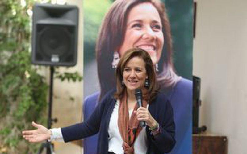 Margarita Zavala llevó sus propuestas políticas a San Luis Potosí. (milenio.com)