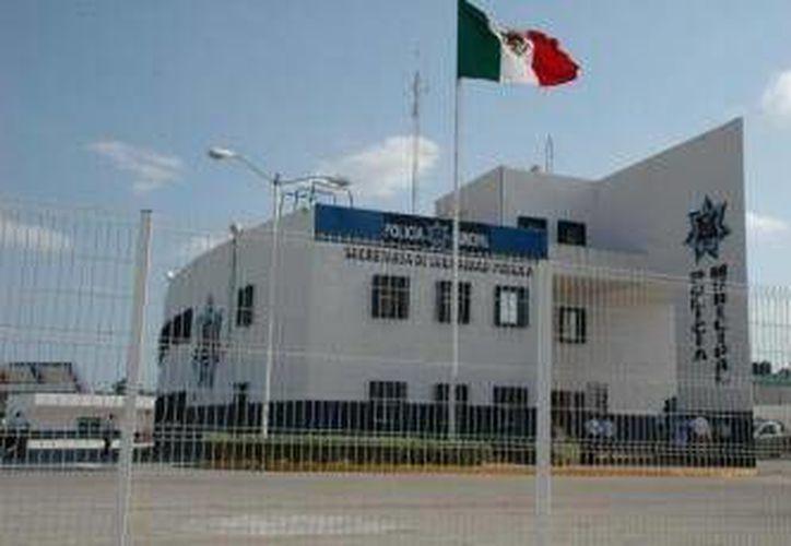 El detenido fue trasladado a las instalaciones de Seguridad Pública. (Foto de Contexto/Internet)