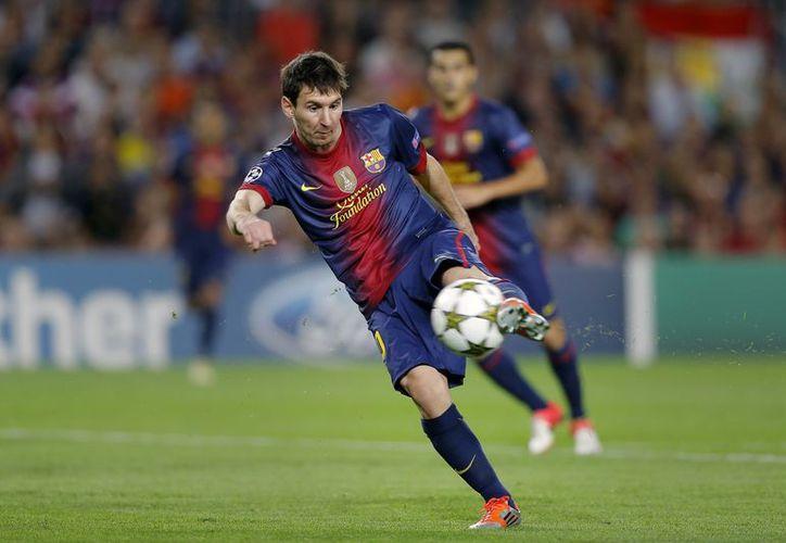 Messi batió la semana pasada el récord de más goles en un año natural con 65 tantos. (Foto: Agencias)