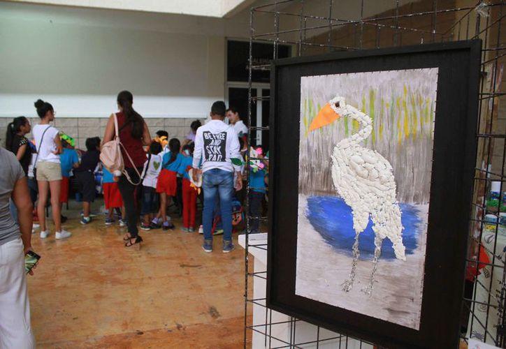 Se organizó el Tercer Festival de las Aves en la Casa de la Cultura. (Sergio Orozco/SIPSE)
