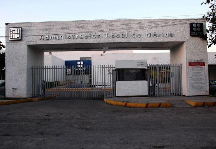 Imagen de las instalaciones del Servicio de Administración Tributaria, el cual continúa la revisión de diversas solicitudes de devolución. (Milenio Novedades)