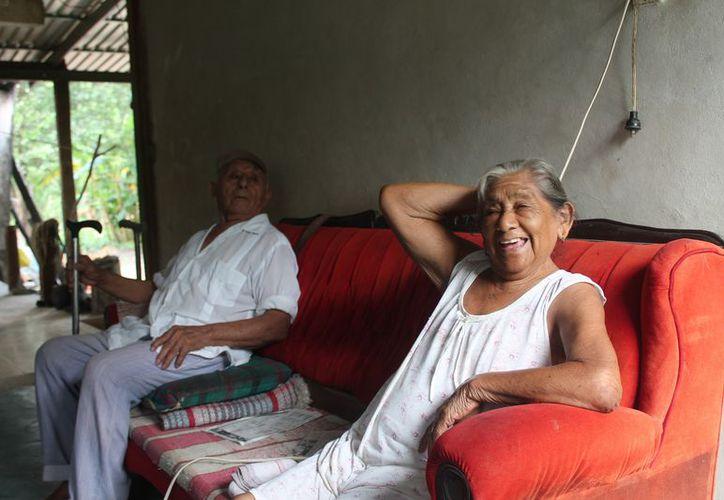 Actualmente Trinidad Canul Baas, cuenta con 85 años de edad. (Raúl Balam/SIPSE)
