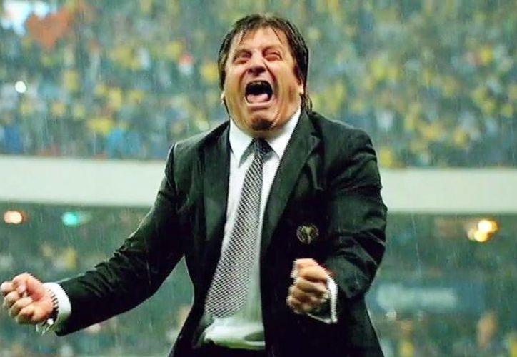 Miguel Herrera, al enterarse de las declaraciones que el comentarista de TV Azteca Luis García hizo en contra de la Selección nacional, no pudo evitar y estalló en su contra. (Archivo/Univisión)
