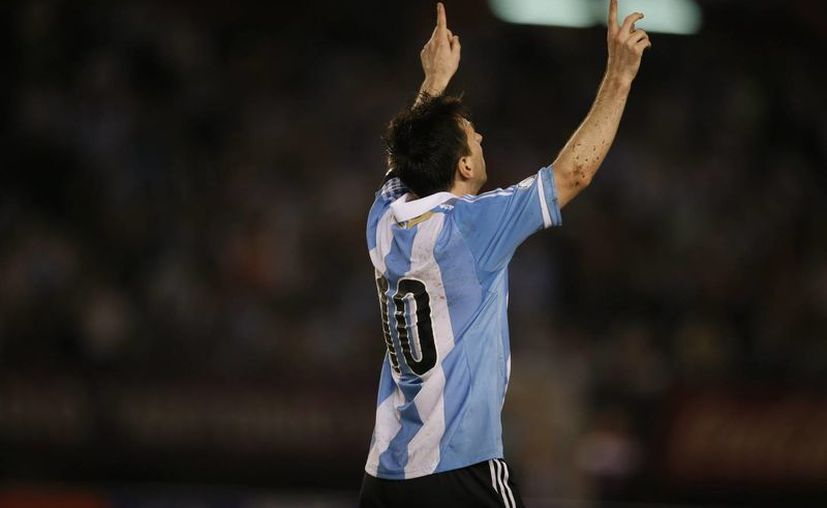 Messi tiene un promedio de .41 goles por partido. (Foto: EFE)