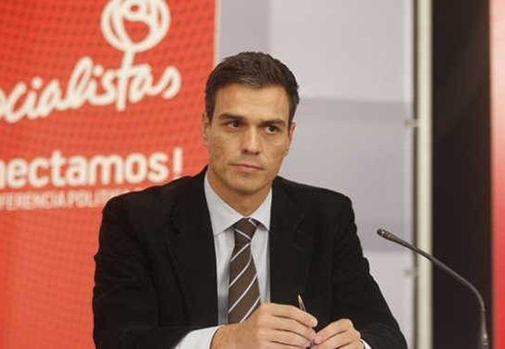 El diputado Pedro Sánchez-Pérez Castejón es economista y tiene 42 años. (laprovincia.es)