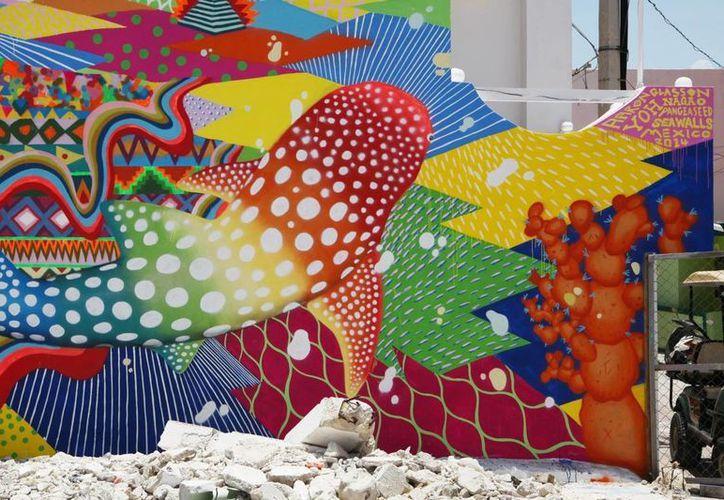 """En el certamen participará un eco mural por cada municipio y la temática es """"Un planeta para todos. (Contexto/Internet)"""