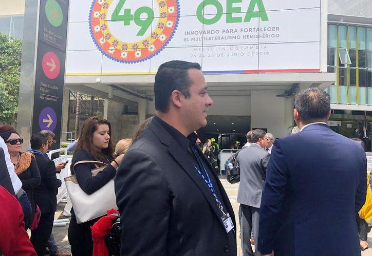 La 49 Asamblea General de la Organización de Estados Americanos (OEA), que se celebra en Medellín, Colombia. (Foto: Cortesía)