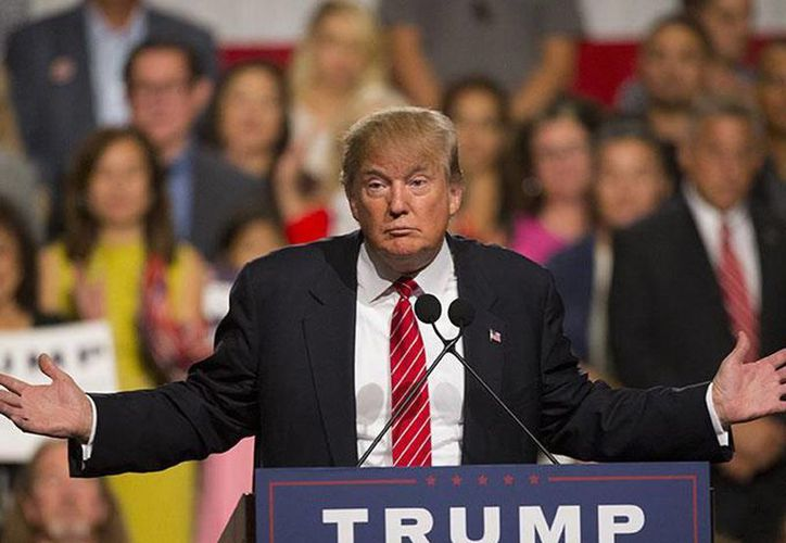 Donald Trump amenazó con sacar a EU de la Organización Mundial del Comercio (OMC) si consigue llegar a la Casa Blanca en las elecciones de noviembre. (AP)