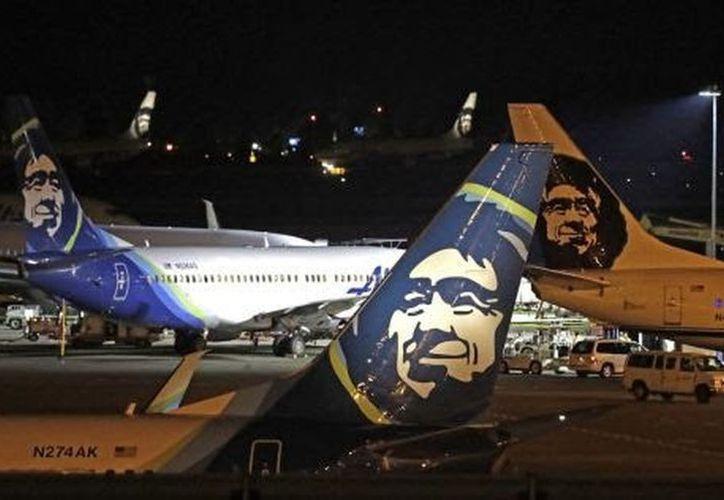 El avión robado pertenece a la aerolínea Alaska Airlines. (Milenio)